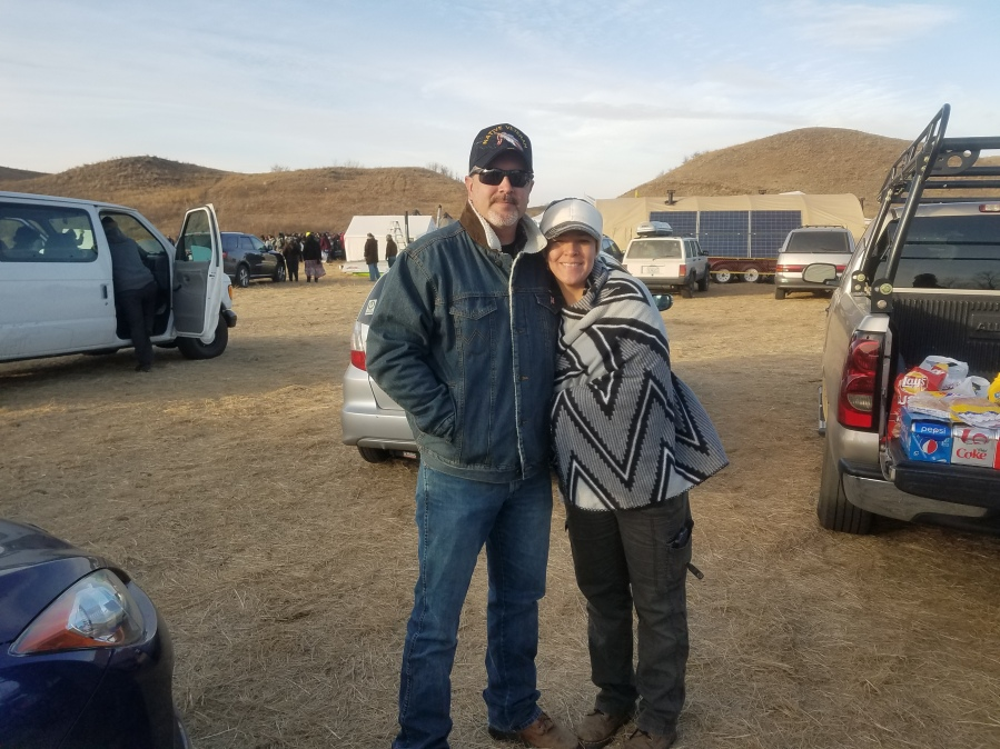 Meet Sasha and Micheal Young and Shannon Smith at Standing Rock